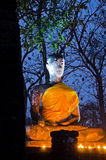 Buddha statue in Sukhothai Historical Park Royalty Free Stock Images