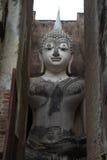 Buddha statue in Sukhothai Historical Park, Sukhot Royalty Free Stock Photo