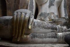 Buddha statue in Sukhothai Historical Park, Sukhot Stock Photos