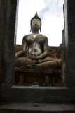 Buddha statue in Sukhothai Historical Park, Sukhot Stock Images