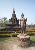 Buddha Statue in Sukhothai Historical Park, Sukhothai, Thailand Stock Image