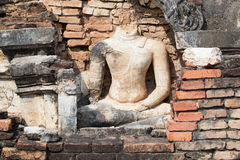 Buddha Statue in Sukhothai Historical Park Stock Photo