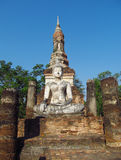 Buddha statue Sukhothai Historical Park in Thailand Royalty Free Stock Photo