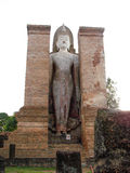 Buddha statue in sukhothai northern of thailand. Old Buddha statue in sukhothai northern of thailand Royalty Free Stock Photos