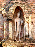 Buddha statue in sukhothai northern of thailand. Old Buddha statue in sukhothai northern of thailand Stock Photo