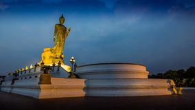 Buddha Statue at Sunrise or Sunset, HDR Royalty Free Stock Images