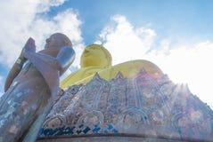 Buddha statue. On sunshine day Stock Images