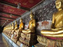 Buddha statue. At Suthat Temple Stock Images