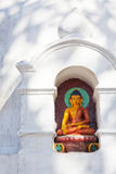 Buddha Statue at Swayambunath Temple, Nepal Royalty Free Stock Photos