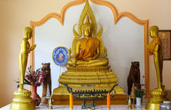 Buddha Statue. In tample Ranong Thailand Stock Photo