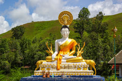 Buddha Statue. In tample Ranong Thailand Stock Photos