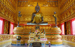 Buddha Statue. In tample Ranong Thailand Royalty Free Stock Images