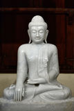 Buddha statue in temple royalty free stock photo