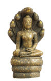 Buddha statue at the temple Royalty Free Stock Photo