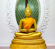 Buddha statue in temple Stock Image