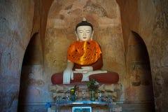 Buddha Statue in Temple. Trip to Myanmar Burma Stock Image
