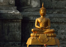 Buddha statue in temple buddhism. Sculpture art of asia Stock Photo