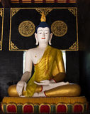 Buddha statue in temple 2 Royalty Free Stock Photography