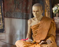 Buddha statue in the temple Stock Photography