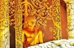 Buddha Statue. Buddha Temple goldbuddha Royalty Free Stock Image