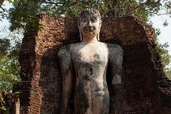 Buddha statue. The Buddha in temple , Kamphaeng Phet Royalty Free Stock Photos