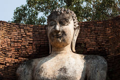 Buddha statue. The Buddha in temple , Kamphaeng Phet Stock Photography