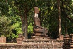 Buddha statue. The Buddha in temple , Kamphaeng Phet Stock Photo