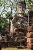 Buddha statue. The Buddha in temple , Kamphaeng Phet Royalty Free Stock Images