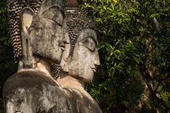 Buddha statue. The Buddha in temple , Kamphaeng Phet Royalty Free Stock Photo