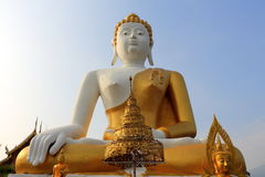 Buddha statue in temple 3 Stock Photo
