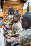 Buddha statue in the Temple Stock Image