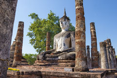 Buddha statue in a temple,Sukhothai,Thailand Royalty Free Stock Images