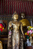 Buddha statue in temple Stock Images