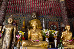 Buddha statue in temple Stock Photography