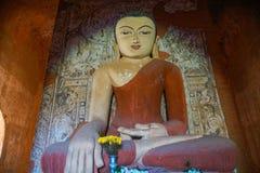 Buddha Statue in Temple. Trip to Myanmar Burma Royalty Free Stock Photos