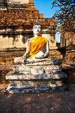 Buddha statue at temple of Wat Mongkol Stock Image