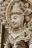 Buddha statue in Thai style molding art. Stock Images