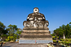 Buddha statue in thai temple Stock Photos