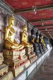 Buddha statue in thai temple Royalty Free Stock Photo