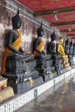 Buddha statue in thai temple Stock Photo