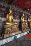 Buddha statue in thai temple Stock Images