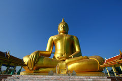 Buddha statue. In thai temple, Thailand Royalty Free Stock Image