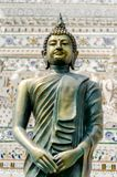The buddha statue in Thai temple Stock Photo