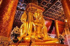 Buddha-Statue, thailändische Art. Lizenzfreies Stockbild