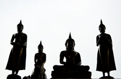 Buddha statue in Thailand Stock Photography