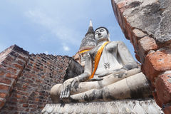 Buddha statue , Thailand Royalty Free Stock Images