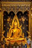 Buddha-Statue in Thailand Lizenzfreies Stockfoto