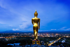 Buddha statue. The Buddha statue in thailand Royalty Free Stock Images