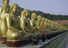 Buddha statue thailand. Royalty Free Stock Photo