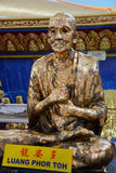 Buddha statue in Thailand Buddha Temple. Royalty Free Stock Image